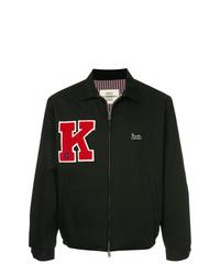 Veste-chemise noire Kent & Curwen