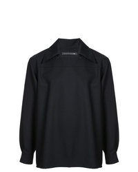 Veste-chemise noire Mackintosh 0003