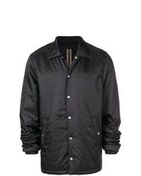 Veste-chemise noire Rick Owens DRKSHDW
