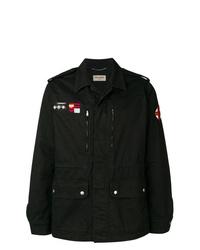 Veste-chemise noire Saint Laurent