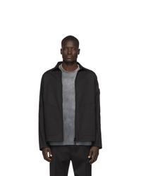Veste-chemise noire Stone Island