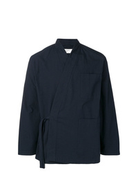 Veste-chemise noire Universal Works