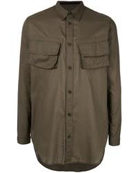 Veste-chemise olive Julius
