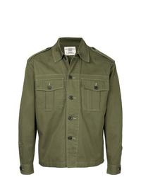 Veste-chemise olive Kent & Curwen