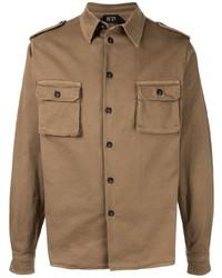 Veste-chemise olive N°21
