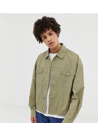 Veste-chemise olive Noak