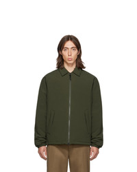 Veste-chemise olive The Very Warm