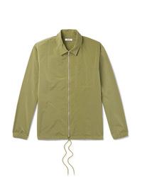 Veste-chemise olive Très Bien
