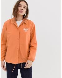 Veste-chemise orange Herschel Supply Co.