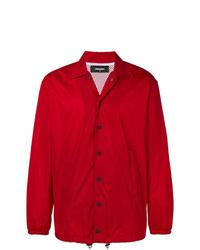 Veste-chemise rouge DSQUARED2