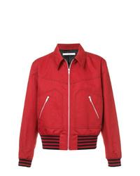 Veste-chemise rouge Givenchy