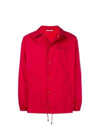 Veste-chemise rouge Valentino
