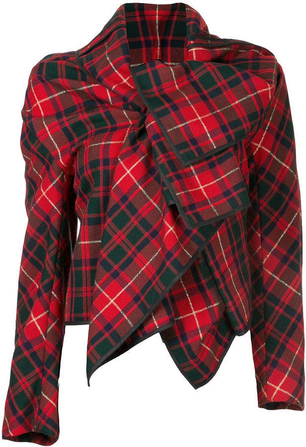 Des Garcons Écossaise Veste Comme Rouge dhrxQtCs