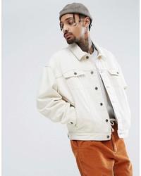 Veste en jean blanche Asos