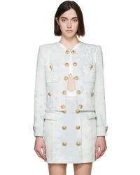 761ac42ca6 Acheter veste en jean blanche femmes de SSENSE | Mode femmes ...