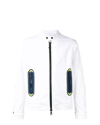 Veste en jean blanche DSQUARED2