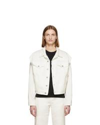 Veste en jean blanche MM6 MAISON MARGIELA