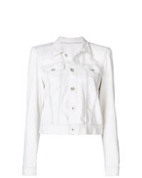 Veste en jean blanche Unravel Project