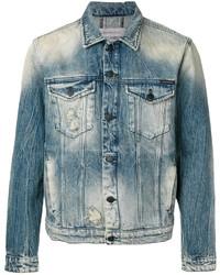Veste en jean bleu canard Calvin Klein