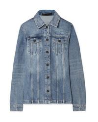 Veste en jean bleu clair Alexander Wang