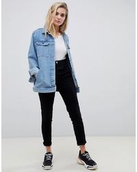Veste en jean bleu clair ASOS DESIGN