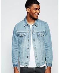 Veste en jean bleu clair Asos