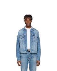 Veste en jean bleu clair Balenciaga