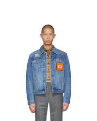 Veste en jean bleu clair Burberry