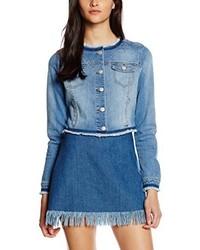 Veste en jean bleu clair Comma