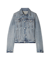 Veste en jean bleu clair Helmut Lang