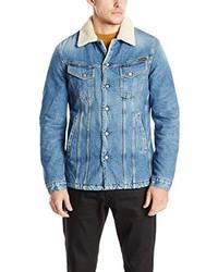 Veste en jean bleu clair Nudie Jeans