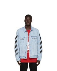 Veste en jean bleu clair Off-White