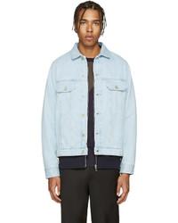 Veste en jean bleu clair Paul Smith