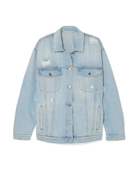 Veste en jean bleu clair Stella McCartney
