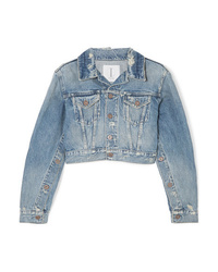 Veste en jean bleu clair TRE by Natalie Ratabesi