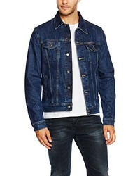 Veste en jean bleu marine Carrera