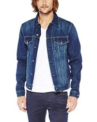 Veste en jean bleu marine Colorado Denim