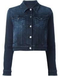 Veste en jean bleue marine Dolce & Gabbana