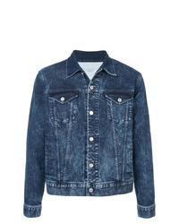 Veste en jean bleu marine Givenchy