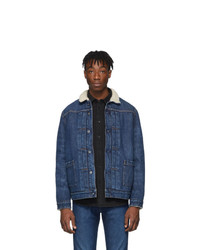 Veste en jean bleu marine Levis Made and Crafted