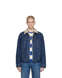 Veste en jean bleu marine Levis Vintage Clothing