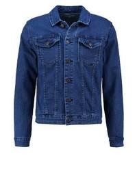 Veste en jean bleu marine ONLY & SONS