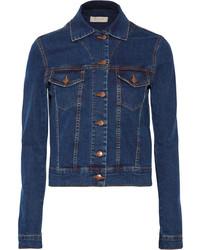 Veste en jean bleu marine Preen Line