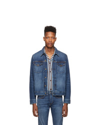 Veste en jean bleu marine Rag and Bone