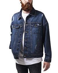 Veste en jean bleu marine Urban Classics