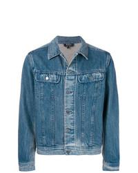 Veste en jean bleu A.P.C.