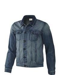 Veste en jean bleu adidas