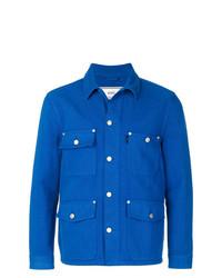 Veste en jean bleu AMI Alexandre Mattiussi
