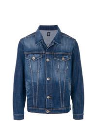 Veste en jean bleu Eleventy