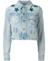 Veste en jean bleue claire Givenchy